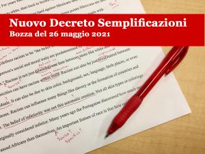 decreto semplificazioni