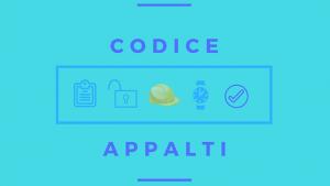 codice appalti