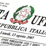 Decreto del Presidente del Consiglio dei Ministri 12/10/2021 (G.U. 14/10/2021 n. 246)