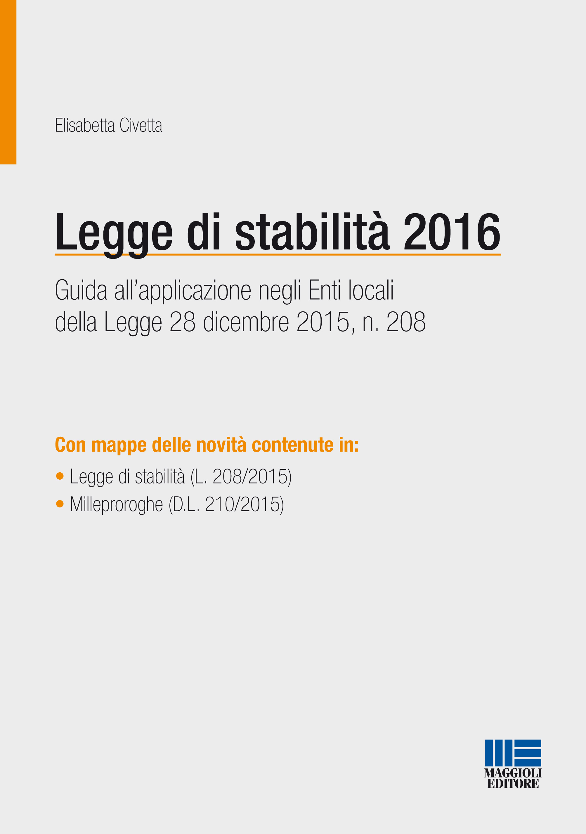 La legge di stabilità 2016