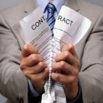 Limiti e condizioni di rilevanza delle risoluzioni contrattuali