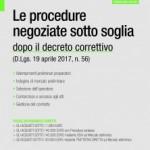 Le procedure negoziate sotto soglia dopo il Decreto correttivo