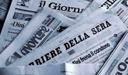 pubblicazione sui quotidiani